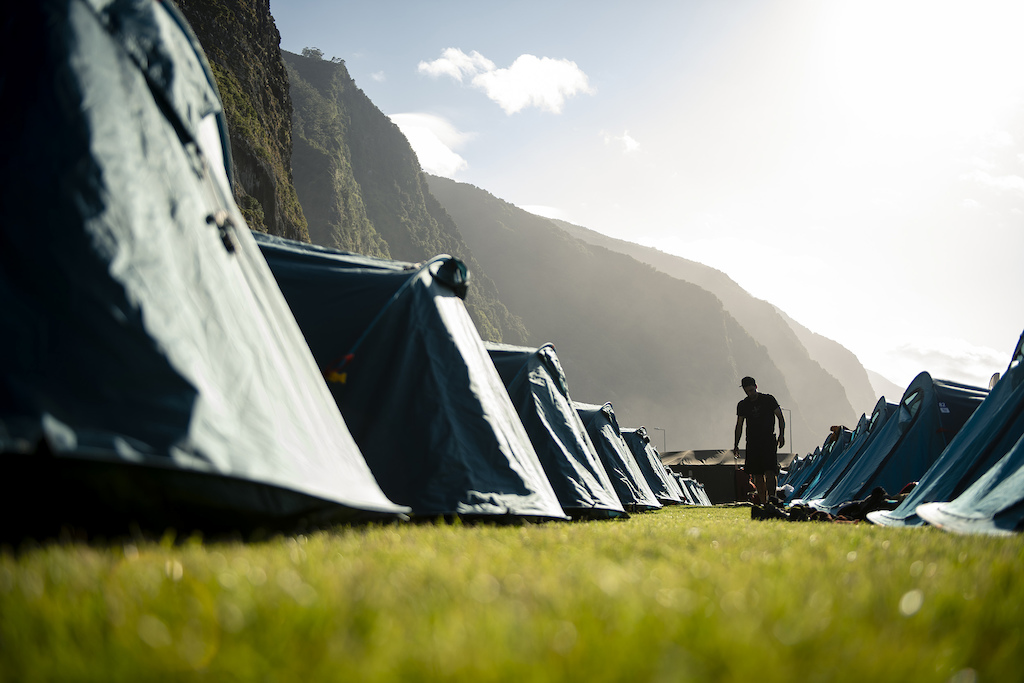 Sao Vicente for camp tonight cliffs towering overhead and the sounds of the swell providing the perfect white noise.