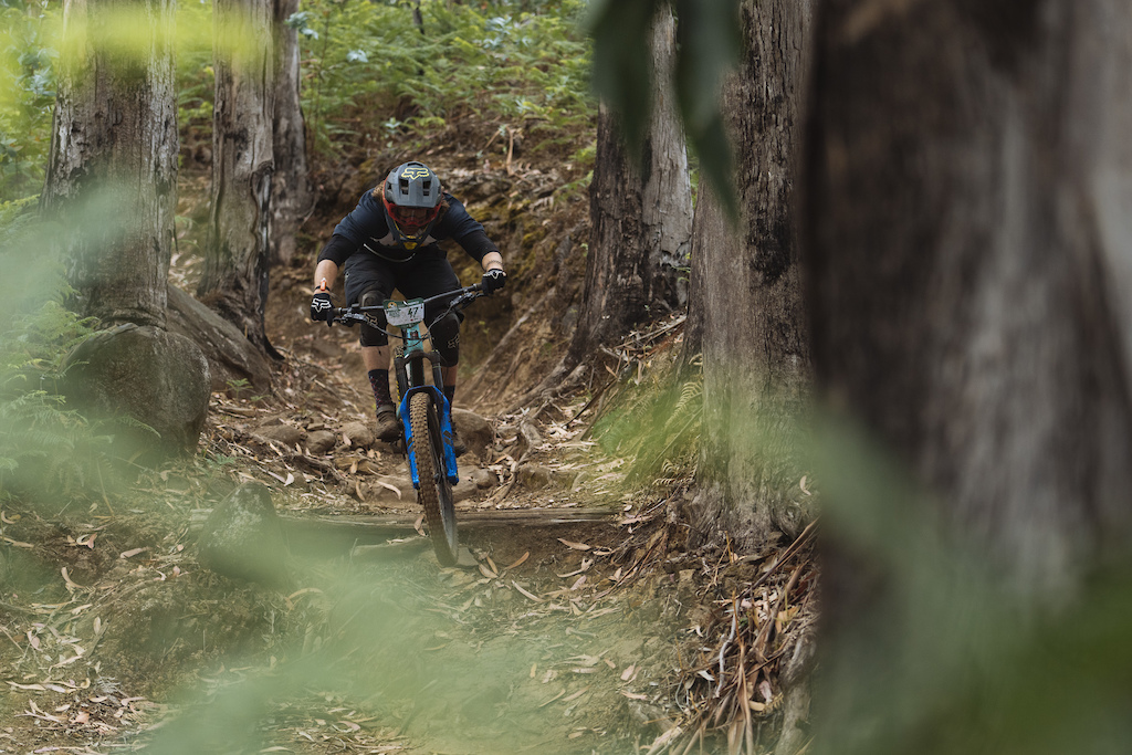 Blackline is a well established island favourite trail and one of the locations for deathgrip
