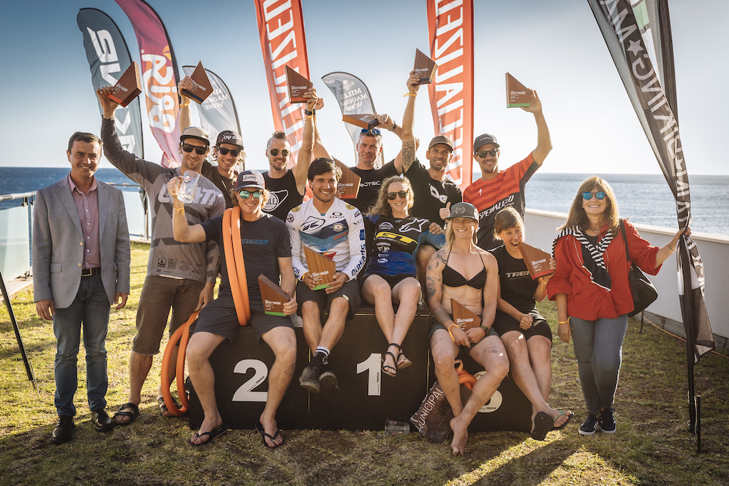 Race winners with the local councils that make it possible.