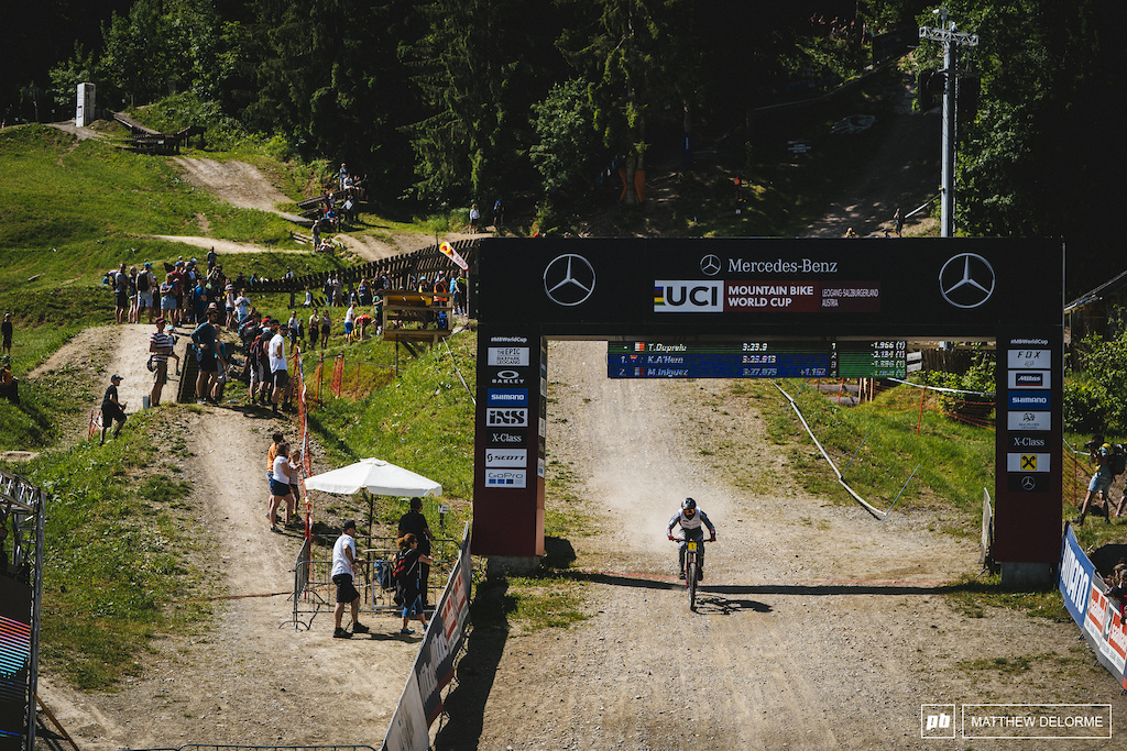 Thibaut Daprela is untouchable in junior men at the moment.