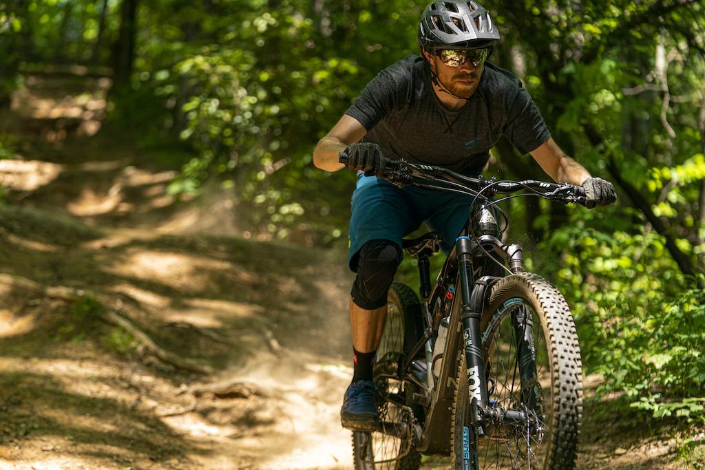 Daniel Sapp in Pisgah National Forest.