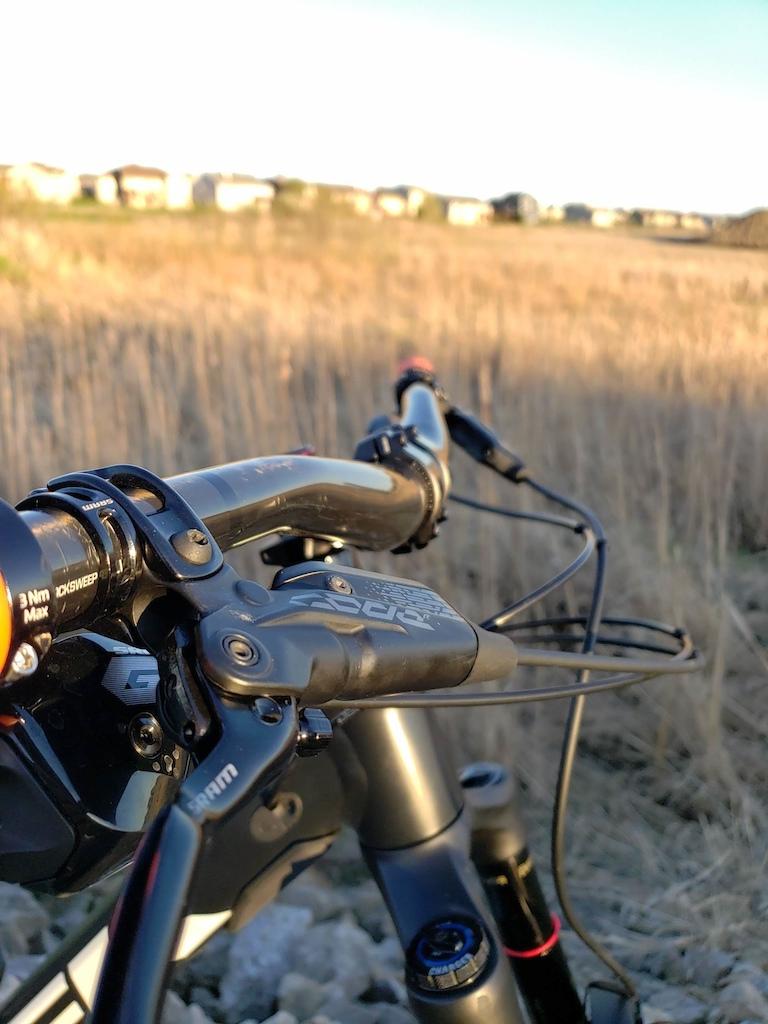 Code R brakes Bontrager Line Pro stem Bontrager Line Pro carbon bars