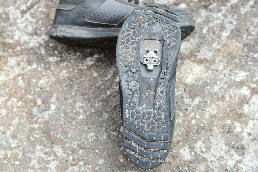 Shimano AM5 shoe review