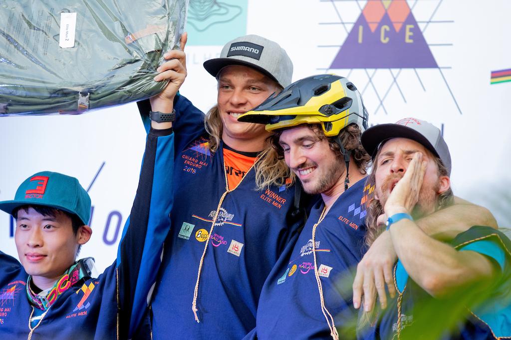 2018 Elite winners podium