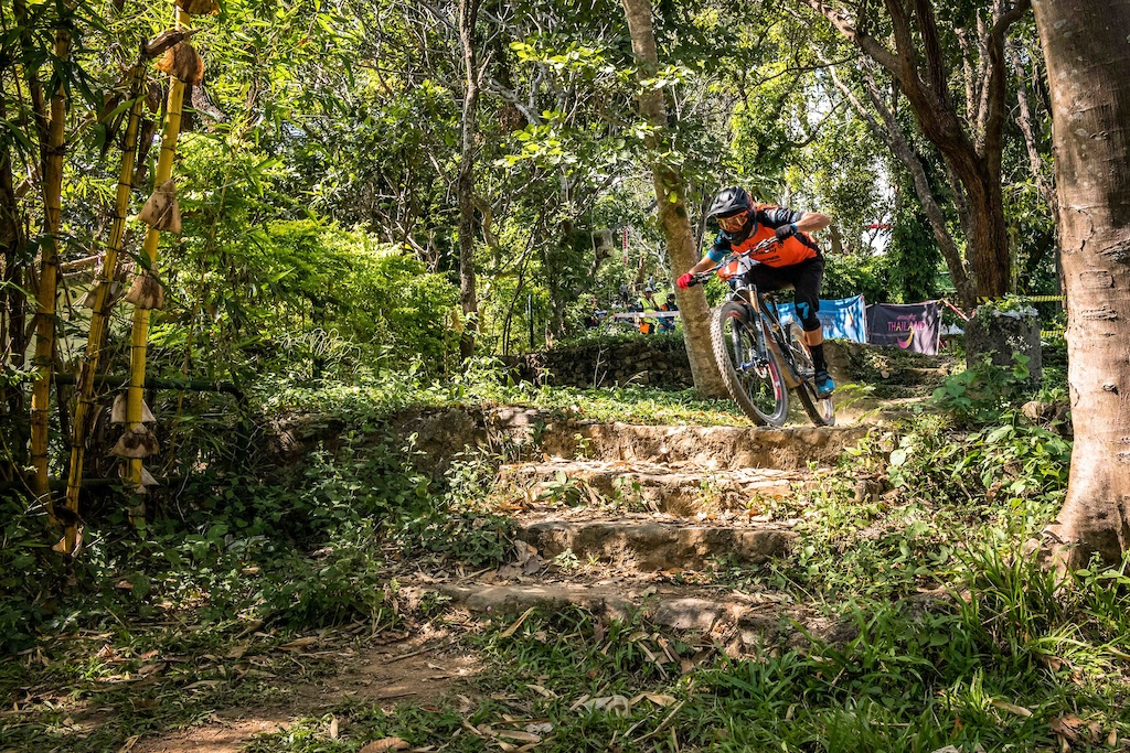 Cody Kelley in action at the 2018 International Chiang Mai Enduro