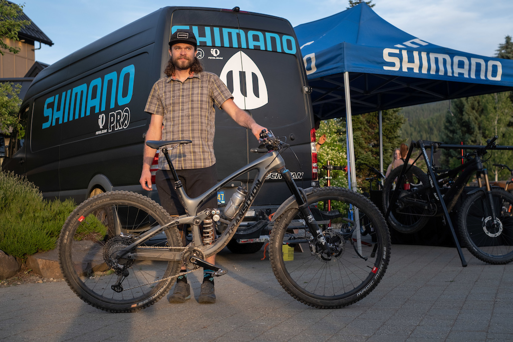 Aaron Bradford is no only the face of shimano he s also a hard podium contender. Watch out.