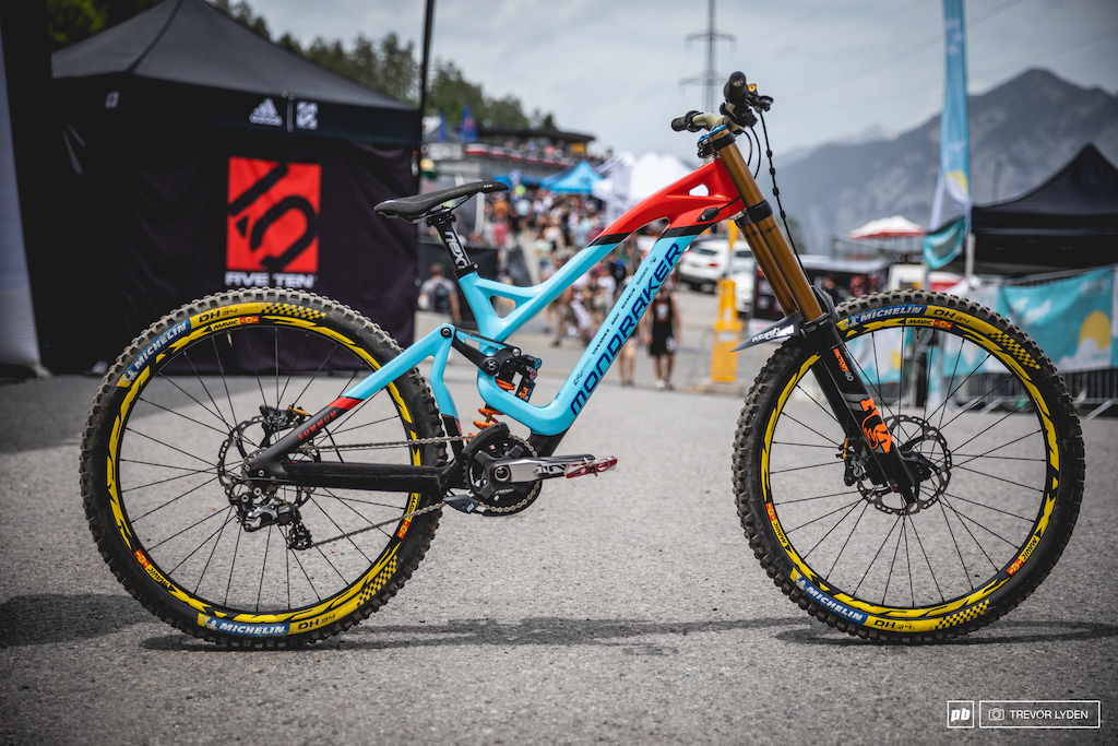 Spotted: New Mondraker DH Bike - Pinkbike