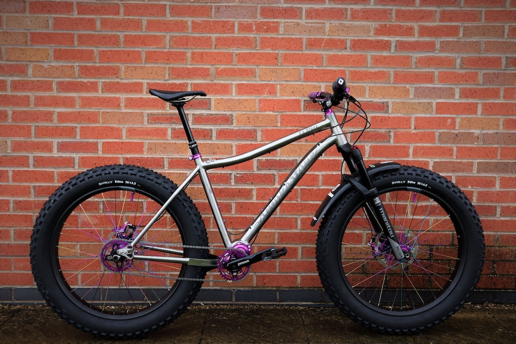 The Ultimate off road mountain bike brought to you by Smokestone Bikes the Ti Pin is here.