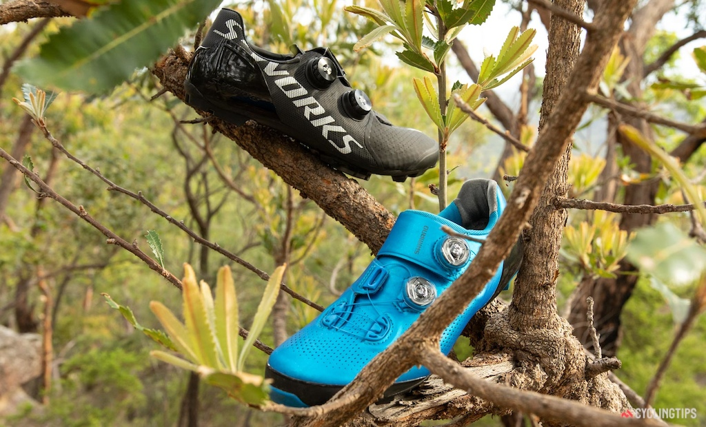 Shimano S-Phyre XC9 vs Specialized S-Works Recon off-road shoe review