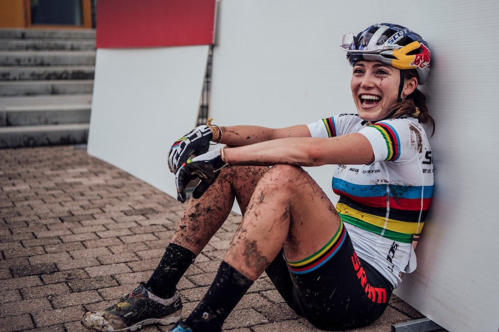 The weekly spin Kate Courtney and the joy of wearing rainbow stripes