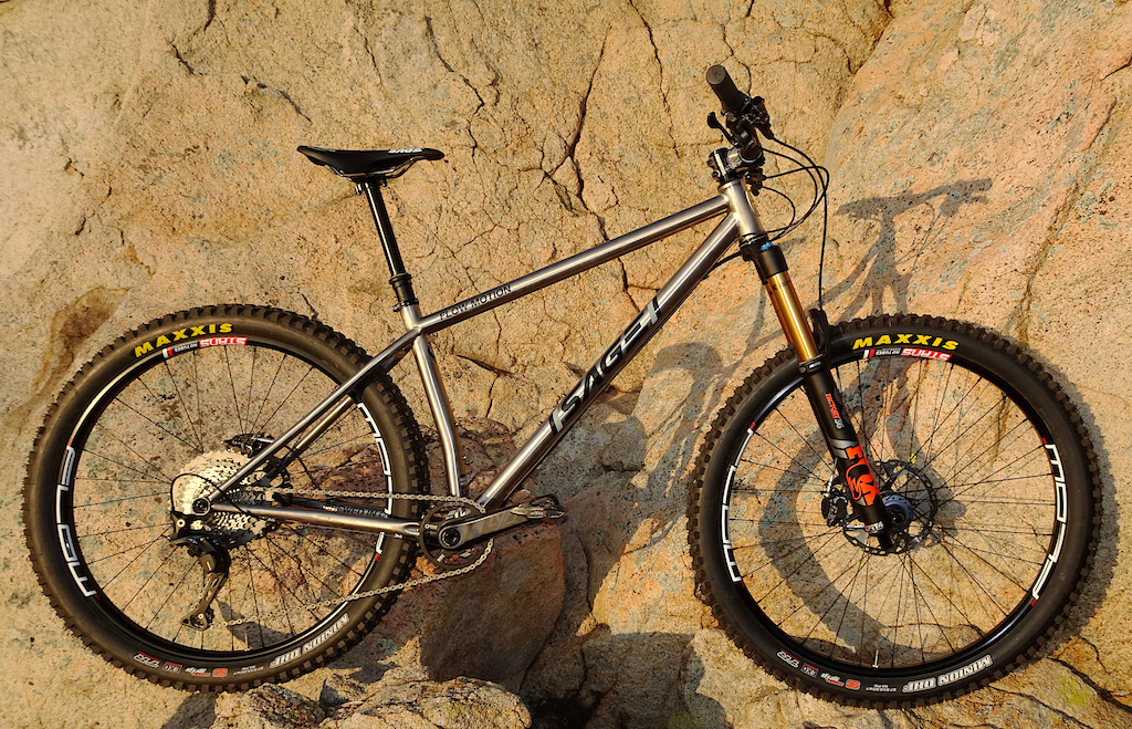 9def2364a88 Living the Dream: David Rosen's Flow Motion Titanium Hardtail - Pinkbike