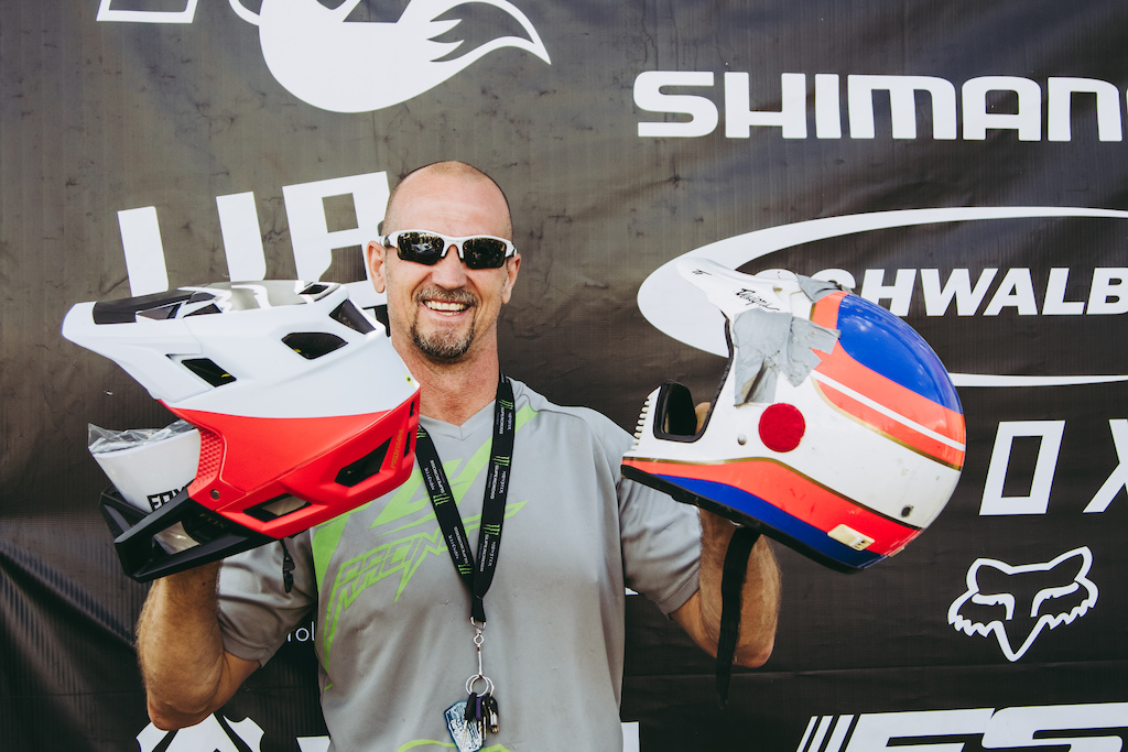 Shoutout to Fox for providing this lucky racer with a brand new Pro Frame helmet