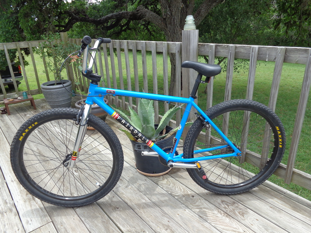 "2014 Fairdale Taj...my new 26"" BMX. Hardly ridden, in fantastic shape."