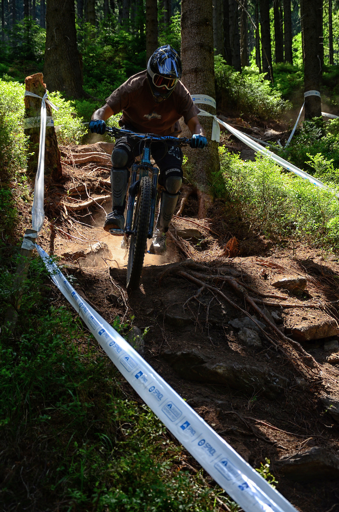 Summer trip to Špindl bike park  with my brother.