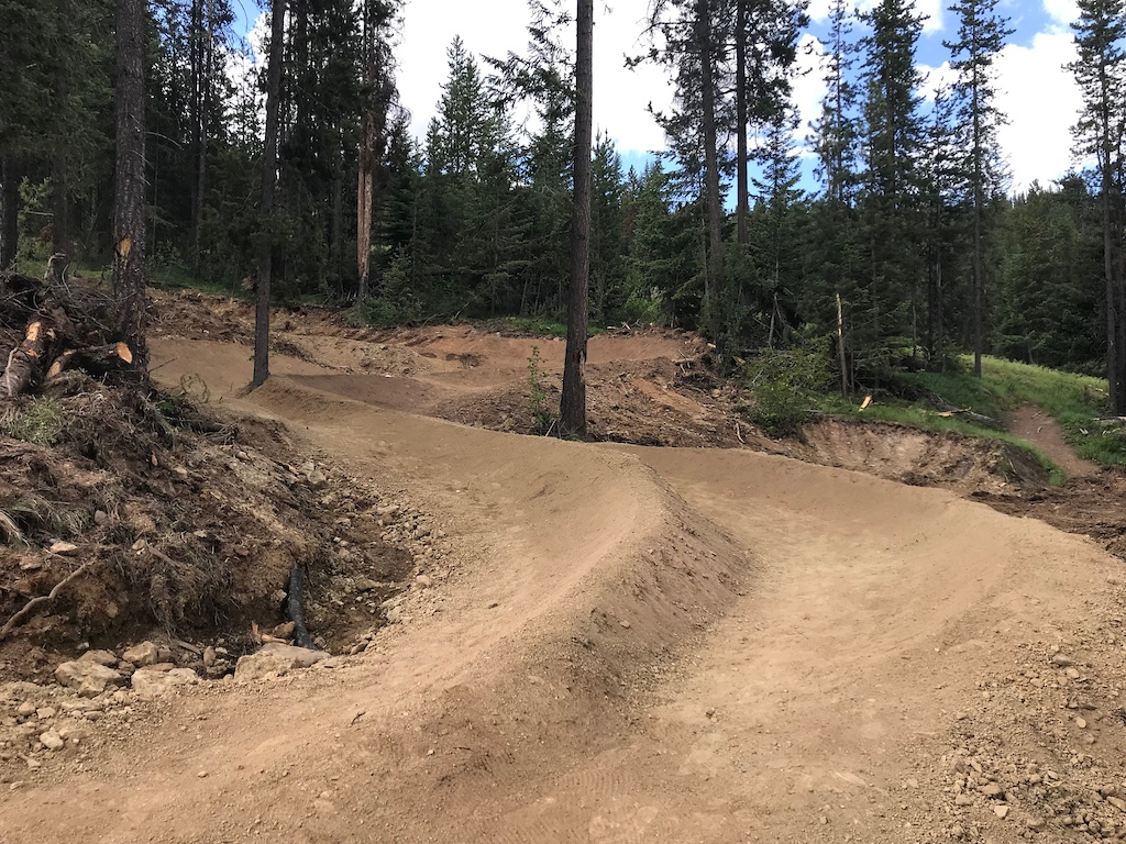 Matched berms.