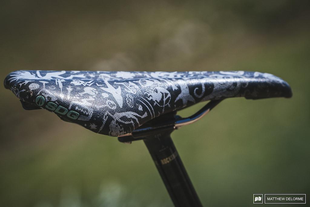 SDG Squid bikes saddle, because squidding.
