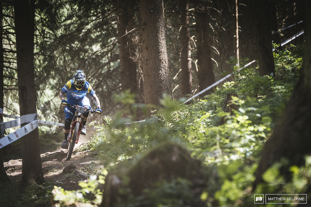 Sam Hill took second today, can he take a win in Les Orres.