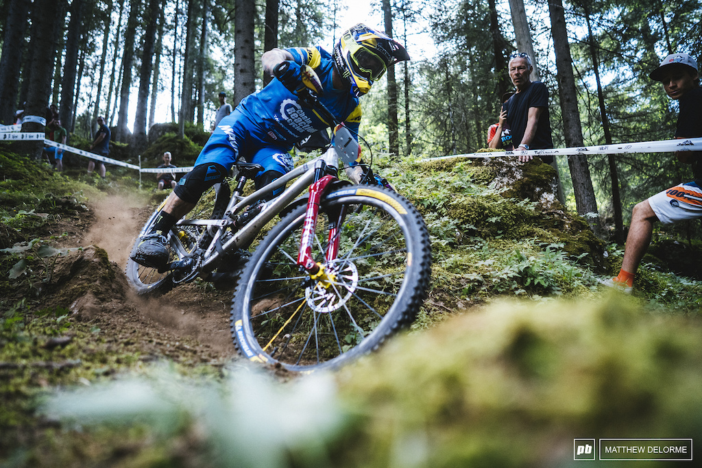 Sam Hill is back on pace, it's only a matter of time before he takes his first win for the season.