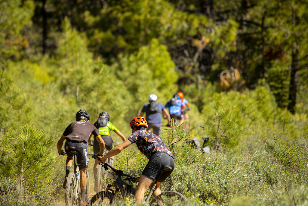 Nearly 400 amateur riders tackled the Capital 50 course on Saturday.