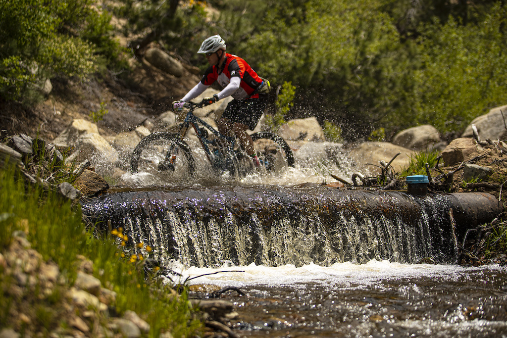 After a winter for the record books there was no shortage of water on course for riders to play in.