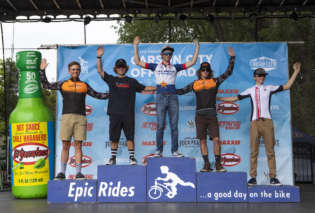 The amateurs took to the Capital 35 and Capital 50 courses in the Carson City Off-Road and some of the fiercest competition was in the junior categories.