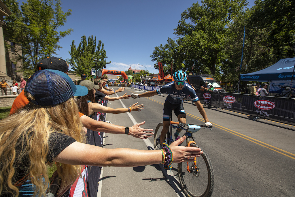 A strong contingent of Carson City fans turned out to cheer on the Pro Men and Women.