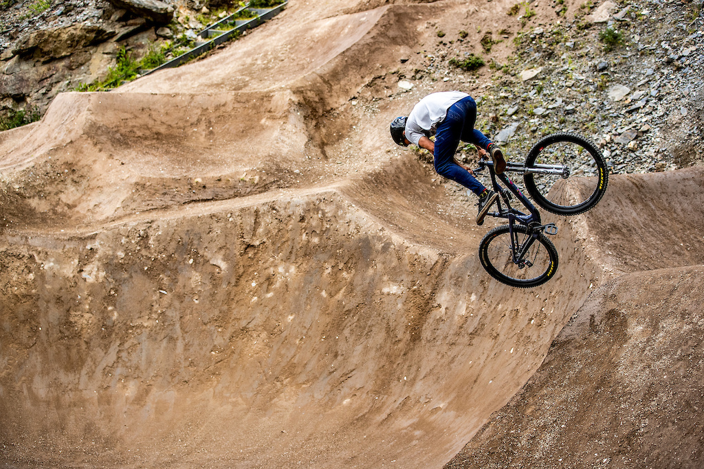 Rockshox 50to01 Revo Bike Park Wales Uk.