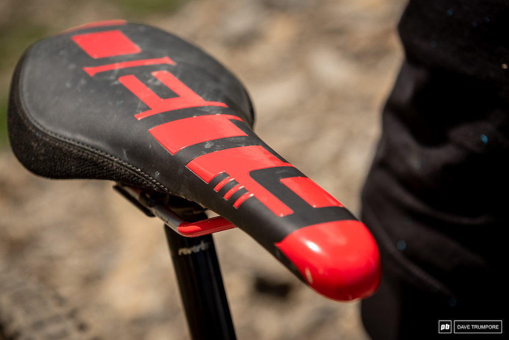 Miranda Miller's Kona Process CR- Deity Saddle