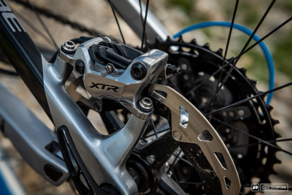 Greg Callaghan s Cube Stereo - XTR calipers and rotors