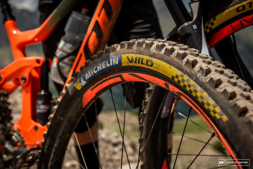 Elliot Trabac's Scott Ransom - Michelin tires