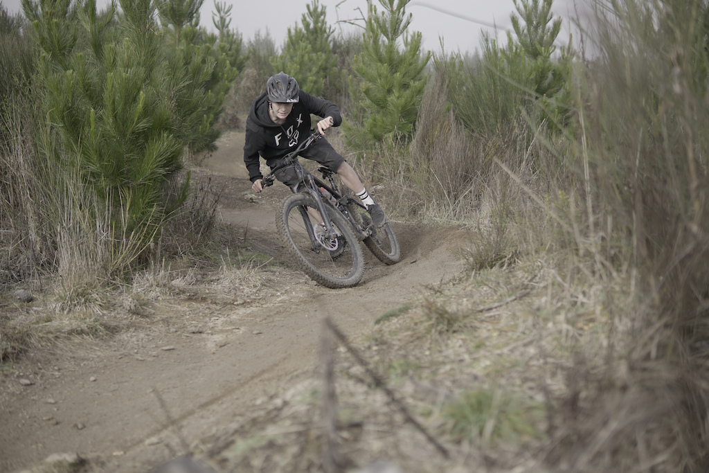 This Kid has a skill for destroying tires and berms a pleasant thought for all bike mechanics and trail builders alike.