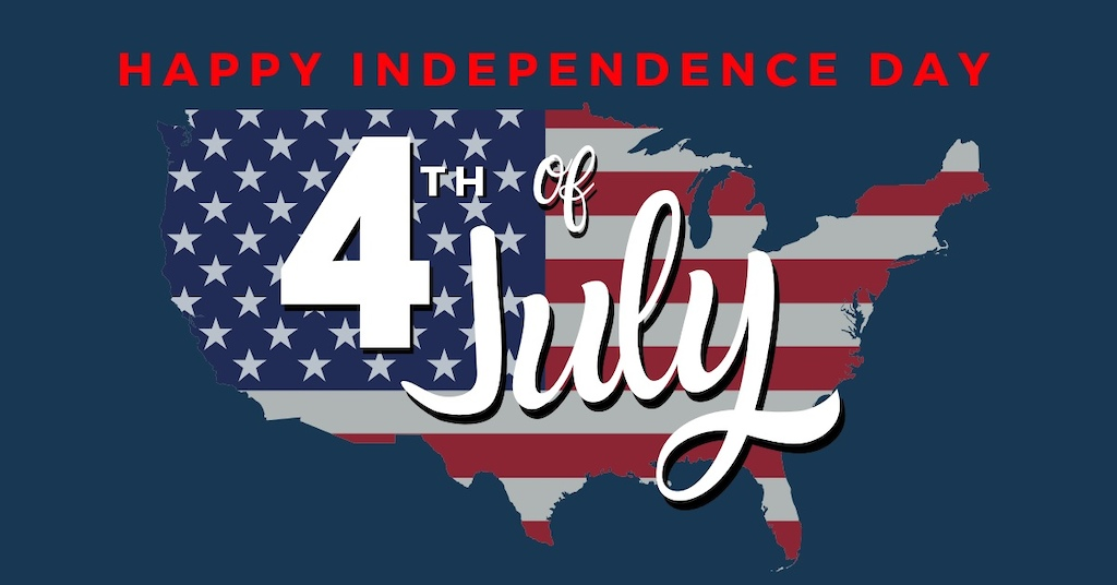 Happy Independence Day to all of my American friends. Have a good one.