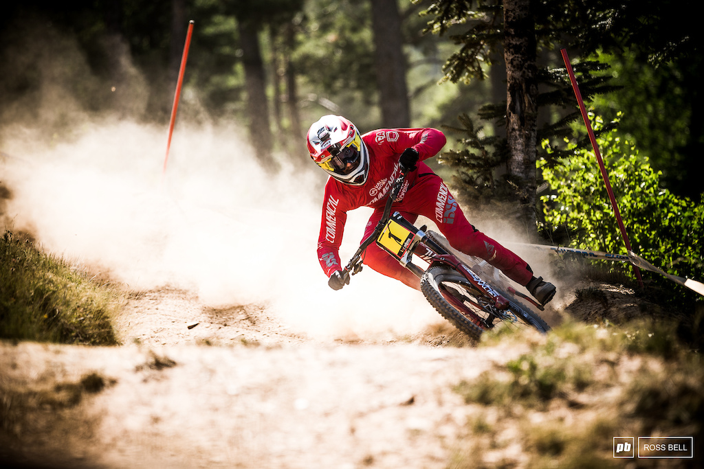 Thibaut Daprela had a scare last week when his bike got stolen here in Andorra but thankfully it was recovered.