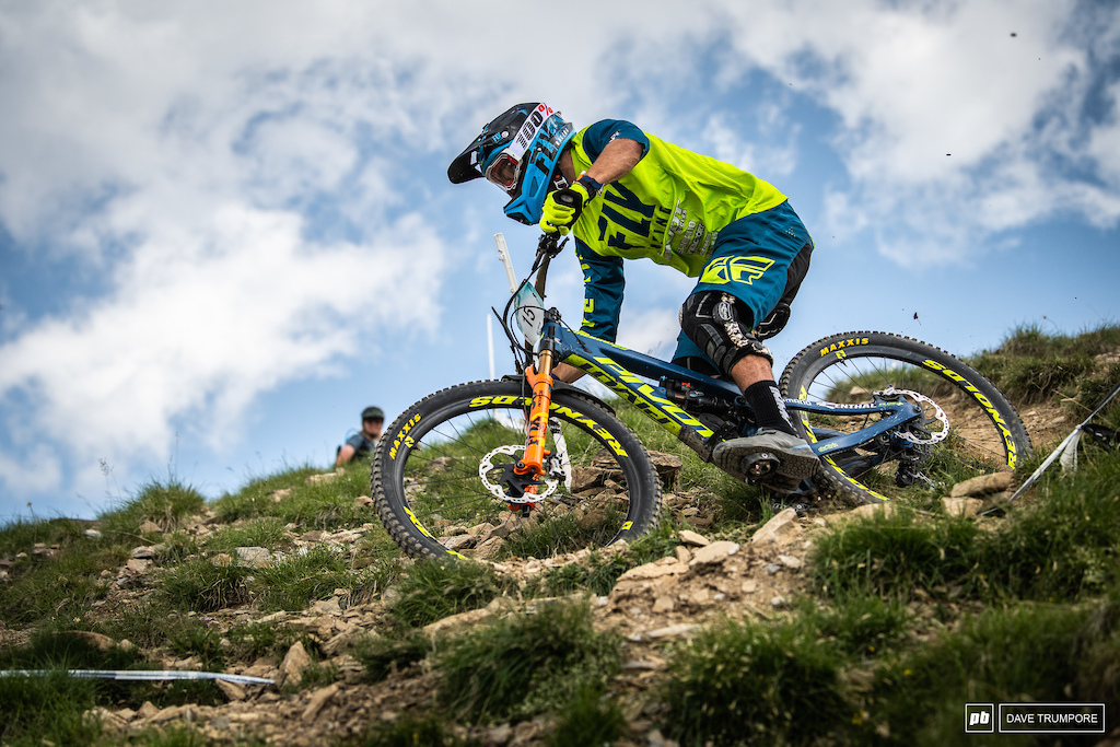Eddie Masters is flying on track and held the lead after Stages 1 3 but end the day in second.