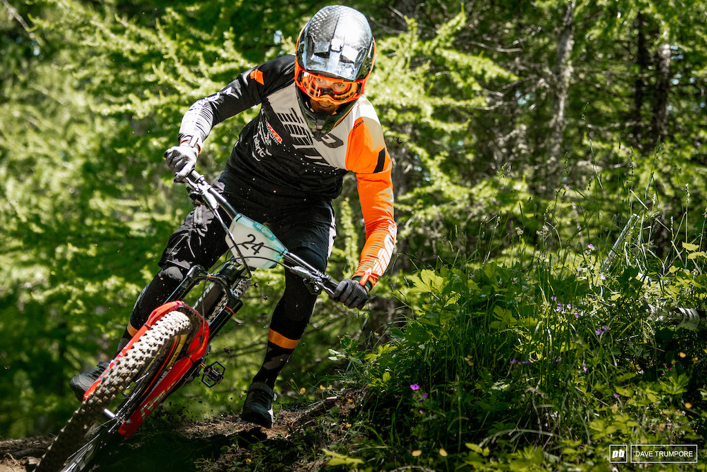 Adrien Dailly slipped early in the day and was unable to hold not his lead form day 1