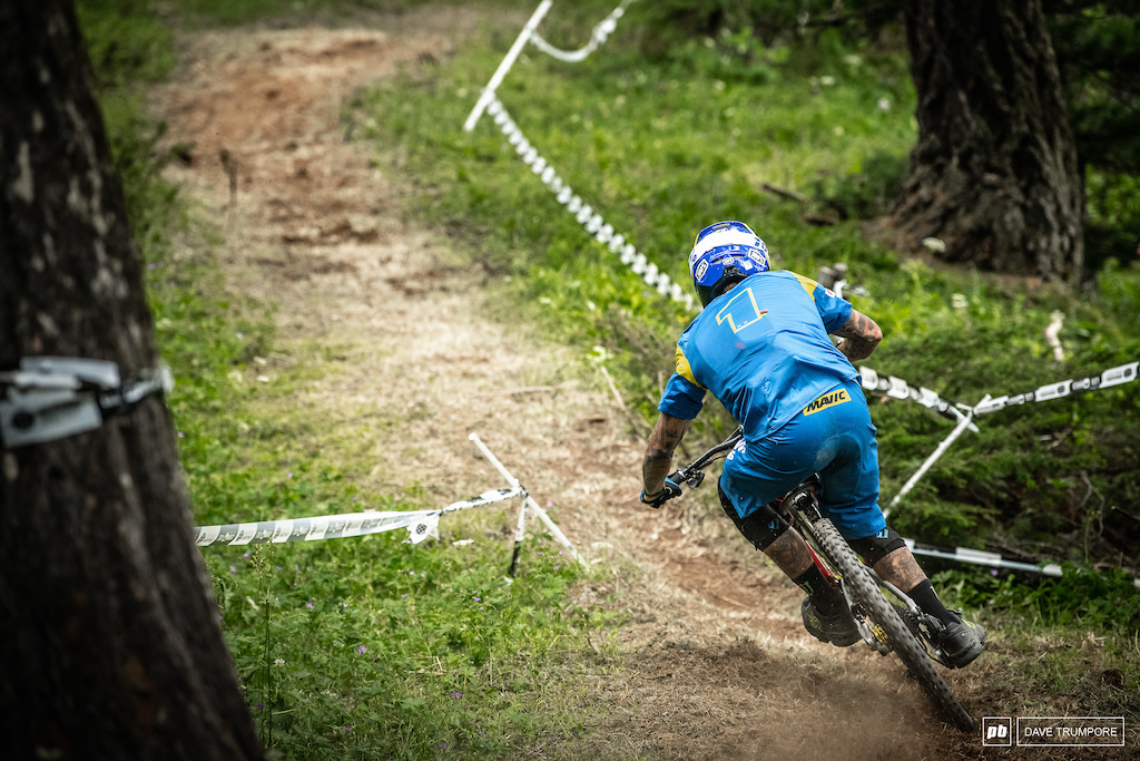 Sam Hill puled himself all the way back to 12th after being n the mid 30's after day 1