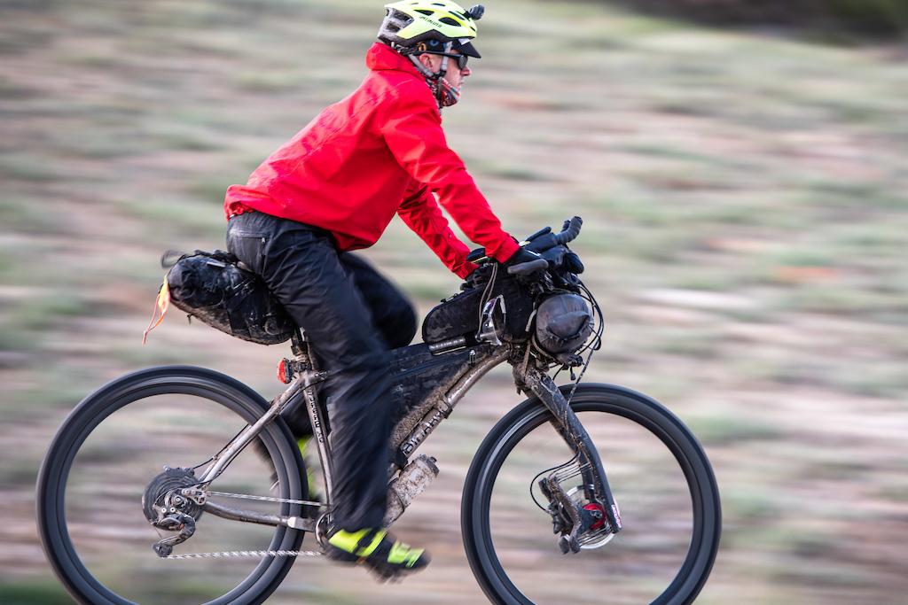 Chris Seistrup cruising through Colorado.
