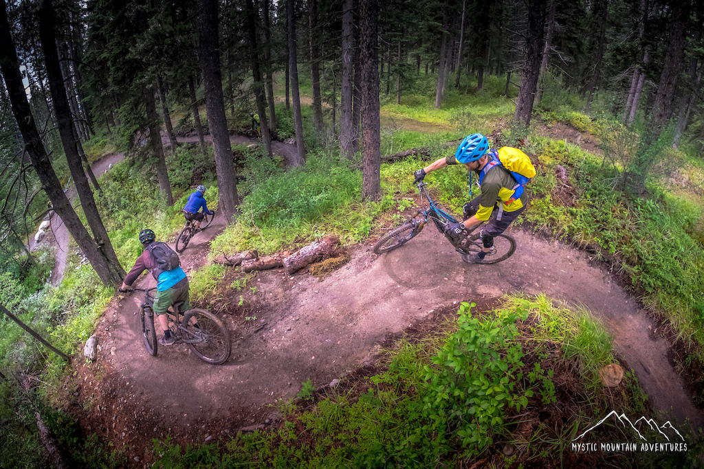 Practice Day - 2019 Canmore BC Enduro Steedz Enduro Bicycle Cafe Canmore mysticmountainadventures.com