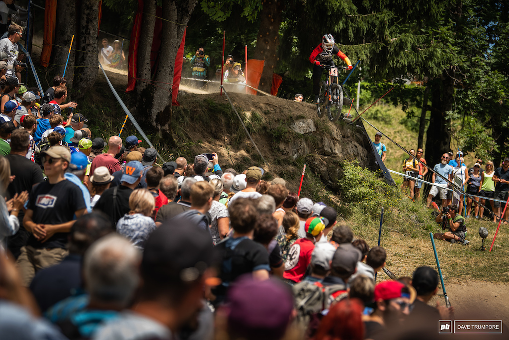 Nina Hoffmann has had a rough few weeks with some big crashes but leaves Les Gest on a high not with a podium