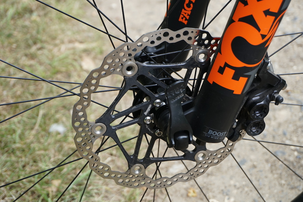 Hope Race Evo E4 disc brakes