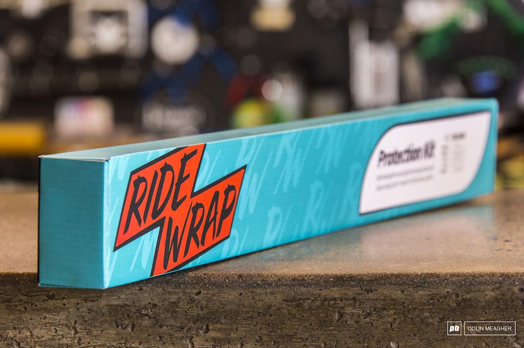 Ride Wrap packaging