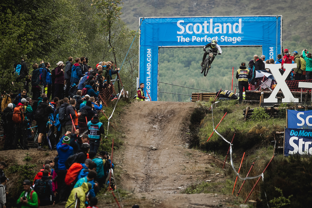 During Ft William UCI MTB World Cup DH Round 2