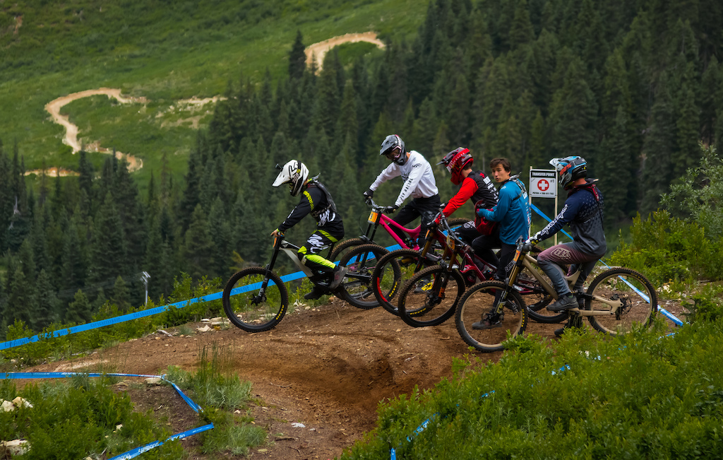 Party laps or training with friends