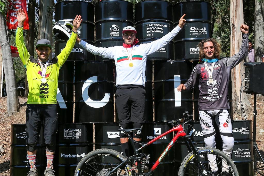 Elite Podium 2019 Portuguese Downhill Championship