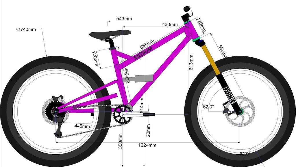 Sick Bike Co Deathwish Medium