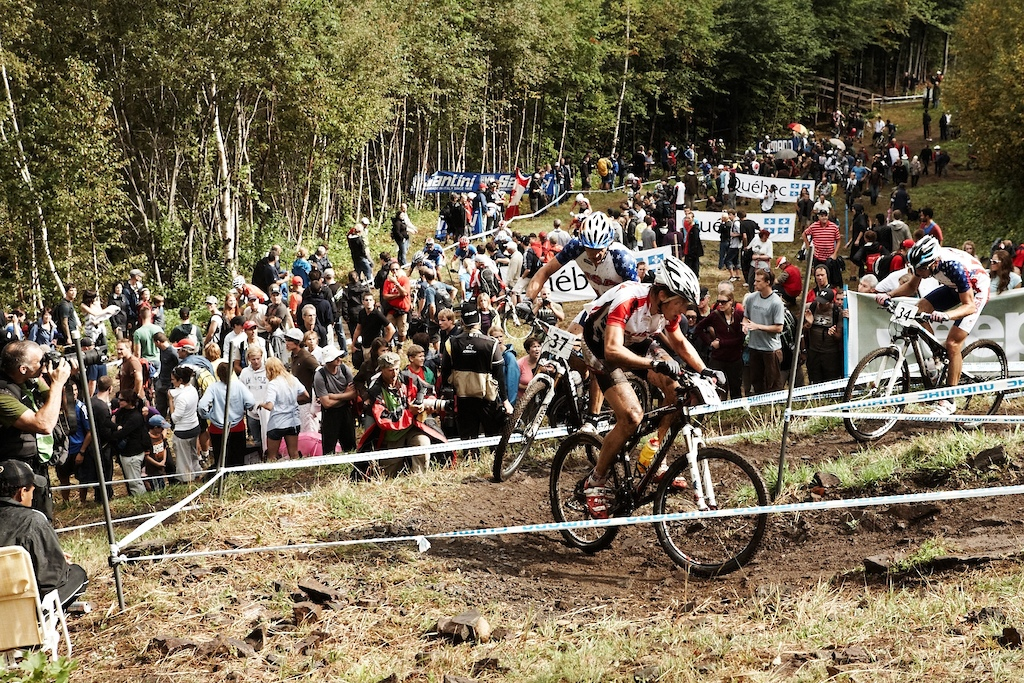 First UCI World Championships at Mont-Sainte-Anne 2010