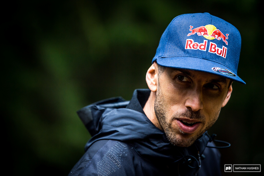 The only man apart from Aaron Gwin to have won at Val Di Sole more than once, Gee Atherton, will be going for the three-peat this weekend.