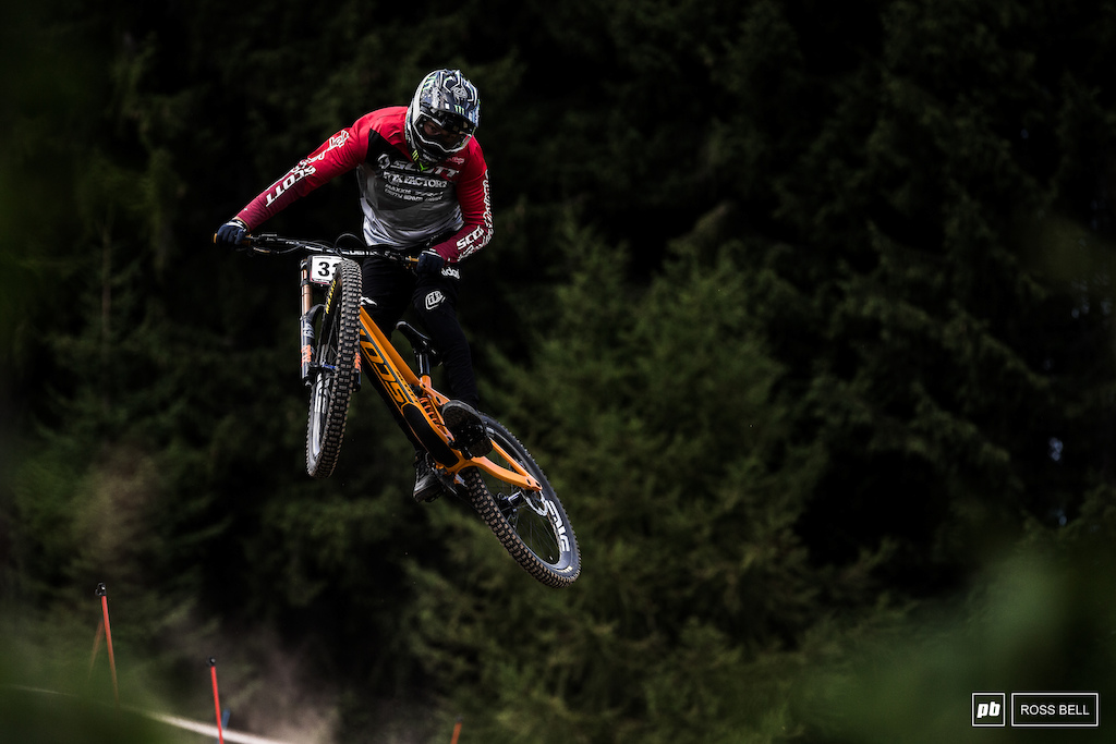 What can Brendan Fairclough do here? We'd all love to see him return to the podium.