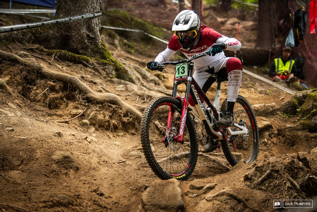 Elliot Jamieson came out on top in the junior men's qualifier