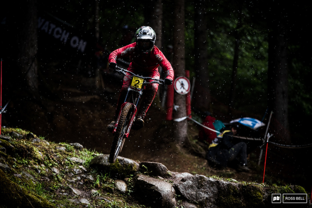 Amaury Pierron clawed some points back in the fight for the overall.